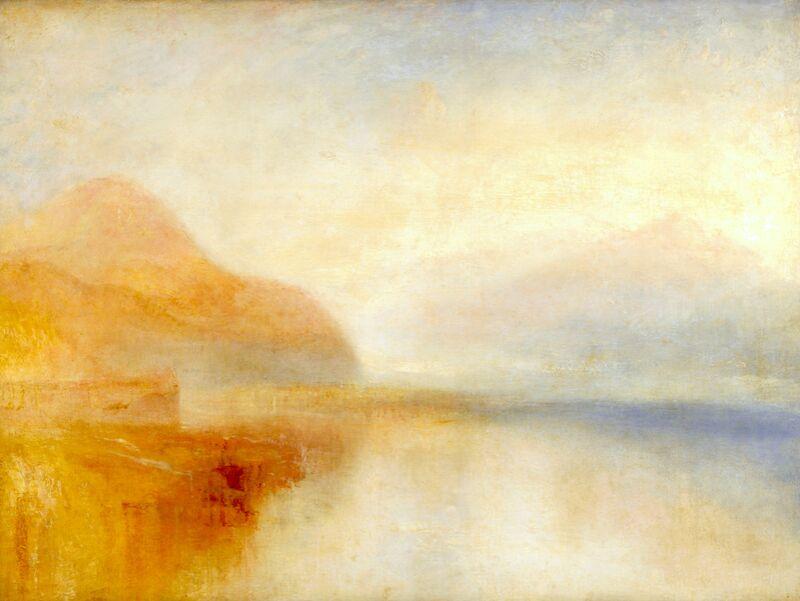 Inverary Pier, Loch Fyne, Morning - TURNER desde AUX BEAUX-ARTS Decor Image