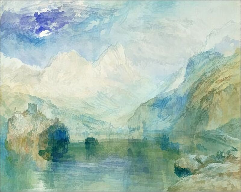 The Lowerzer See - TURNER desde AUX BEAUX-ARTS Decor Image