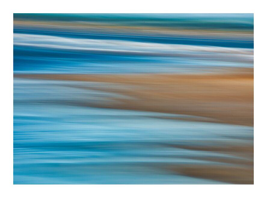 Le salin de Céline Pivoine Eyes, Prodi Art, eau, plage, vague, mer, peinture, abstrait, peinture claire, filet, nature, bleu, Photographie abstraite, Salin