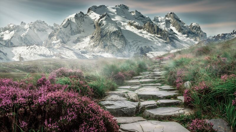 Mountain path from Pierre Gaultier Decor Image