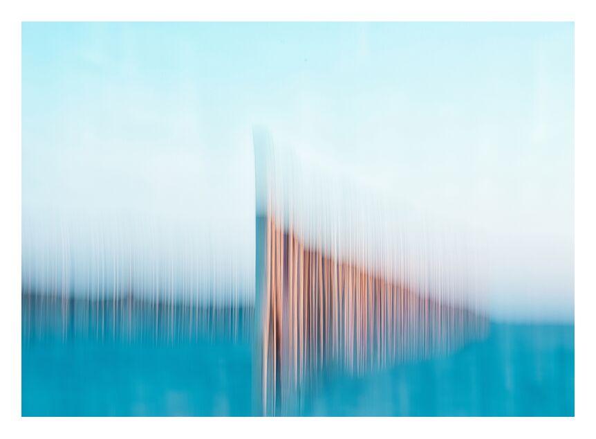 Les ganivelles sur la plage de Gruissan from Céline Pivoine Eyes, Prodi Art, abstract, Abstract photography, sea, landscape, Intentional Camera Movement, ICM, abstract art, gruissan, beach, Ganivelles, Artistic crazy