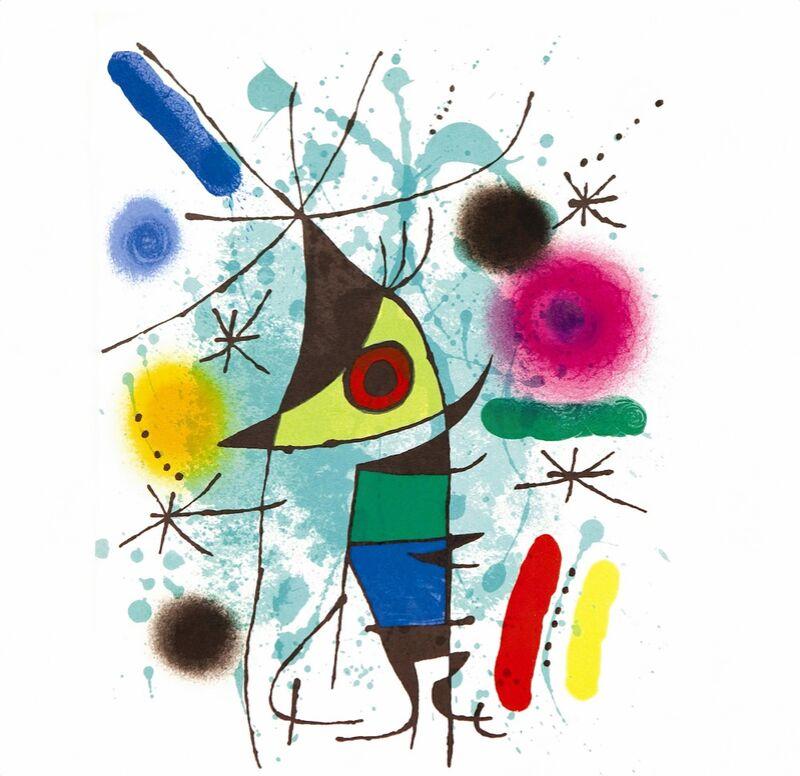 The Singing Fish - Joan Miró desde AUX BEAUX-ARTS Decor Image