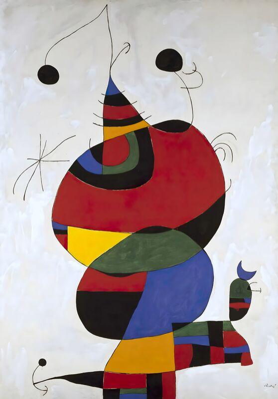 Hommage a Picasso - Joan Miró desde AUX BEAUX-ARTS Decor Image