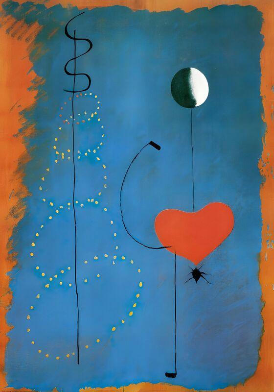 Ballerina - Joan Miró desde AUX BEAUX-ARTS Decor Image