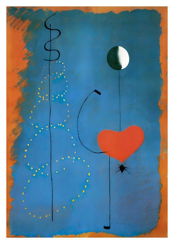 Ballerine - Joan Miró de AUX BEAUX-ARTS, Prodi Art, Joan Miró, dessin, cœur, musique, chant, danse, Danseurs