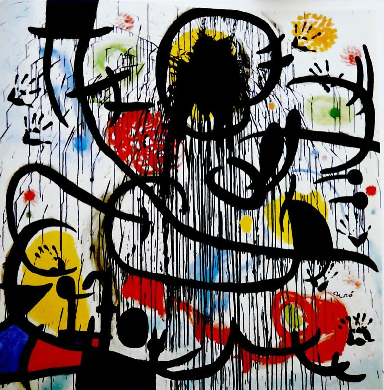 May, 1968 - Joan Miró from AUX BEAUX-ARTS Decor Image