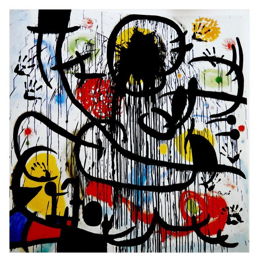 Mai 1968 - Joan Miró de AUX BEAUX-ARTS, Prodi Art, mai 1968, peinture, dessin, France, révolution, Joan Miró