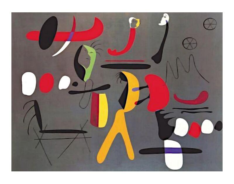 Collage Painting - Joan Miró desde AUX BEAUX-ARTS, Prodi Art, Joan Miró, pintura, collage, abstracto
