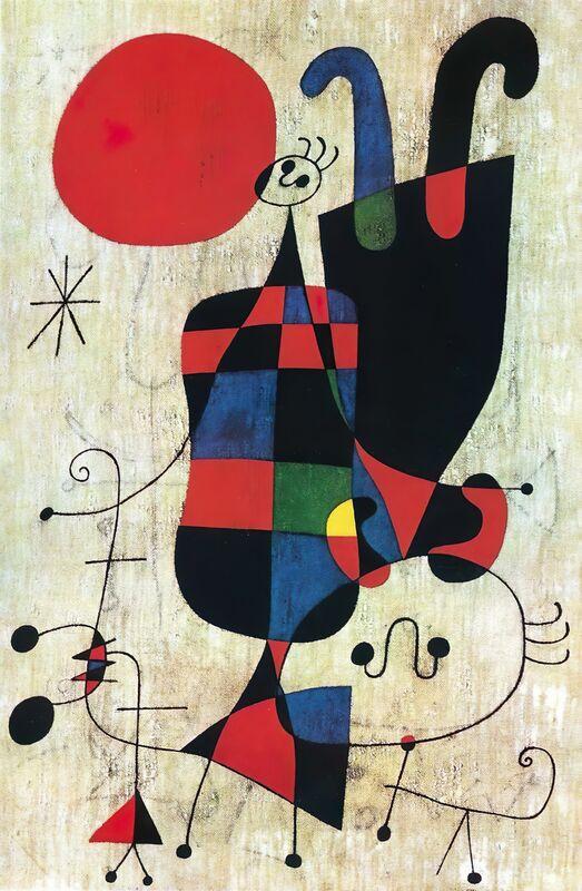 Inversé - Joan Miró de AUX BEAUX-ARTS Decor Image