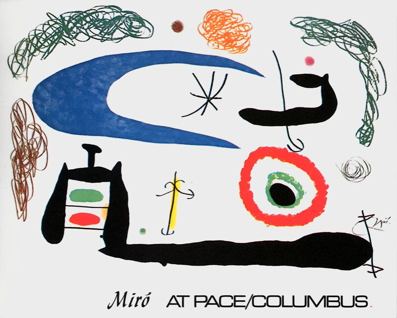 Sleeping under the Moon - Joan Miró from AUX BEAUX-ARTS Decor Image
