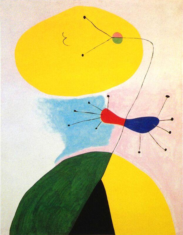 Portrait - Joan Miró de AUX BEAUX-ARTS Decor Image