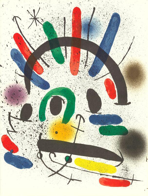 Litografia original II - Joan Miró from AUX BEAUX-ARTS Decor Image