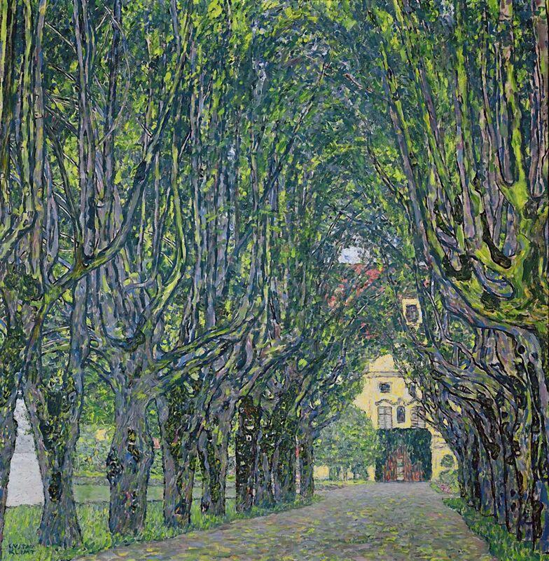 Avenue dans le Parc du Château de Kammer, 1912 - KLIMT de AUX BEAUX-ARTS Decor Image