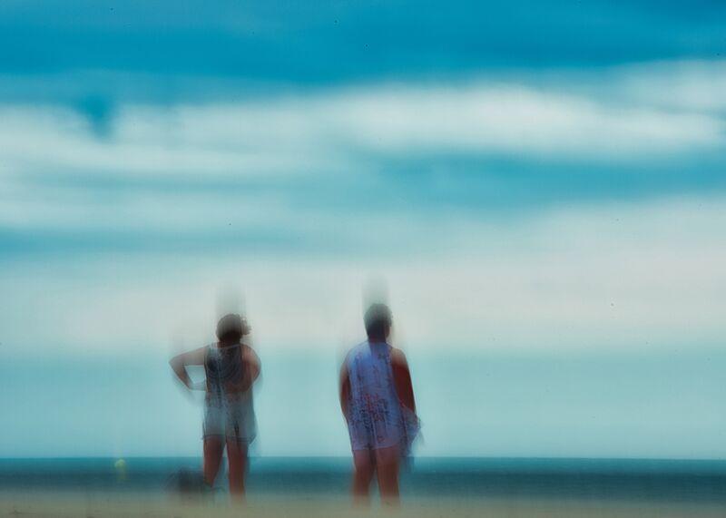 Femmes sur la plage de Céline Pivoine Eyes Decor Image
