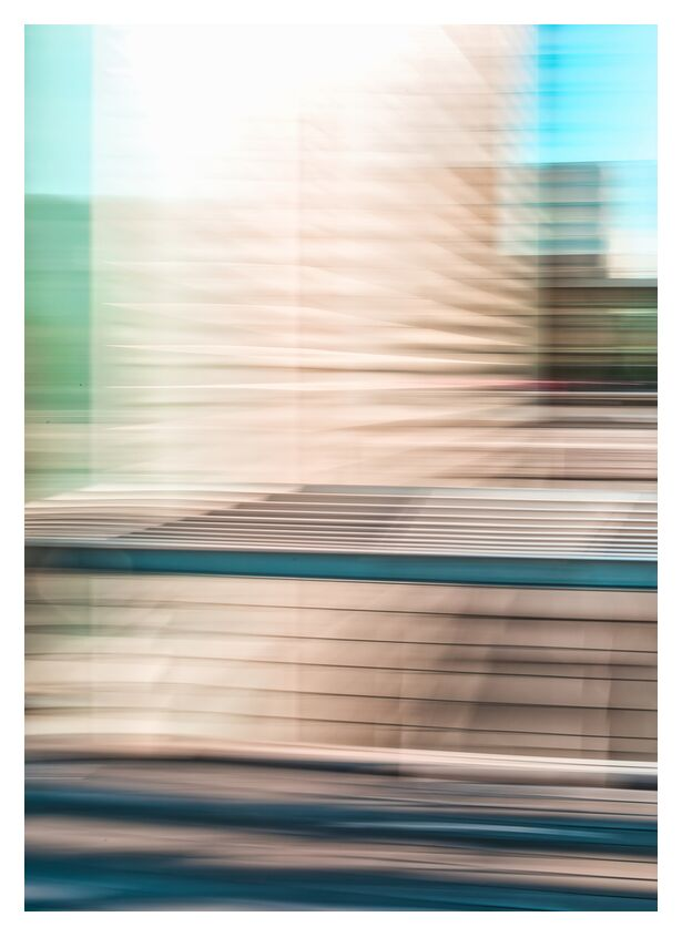 Une tour de la BNF de Céline Pivoine Eyes, Prodi Art, Mouvement intentionnel de la caméra, flou artistique, art abstrait, Photographie abstraite, tour, architecture, BNF, lignes, bibliothèque, Bibliothèque nationale de France, ICM