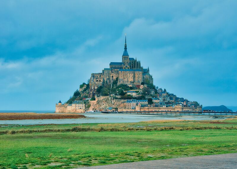 Le Mont Saint Michel tout en couleurs de Céline Pivoine Eyes Decor Image