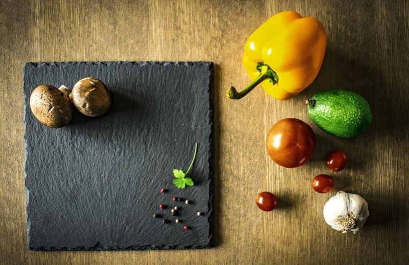 Plan de travail & légumes de Pierre Gaultier Decor Image