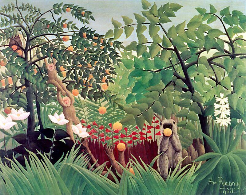 Exotic Landscape from Aux Beaux-Arts Decor Image