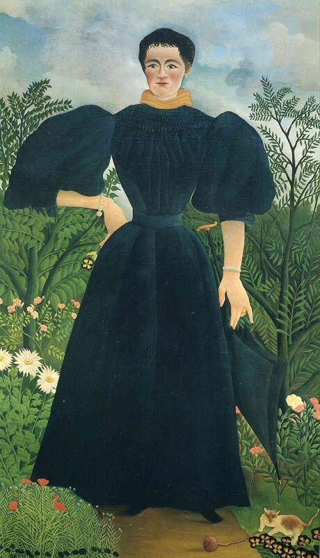 Portrait of a woman desde AUX BEAUX-ARTS Decor Image