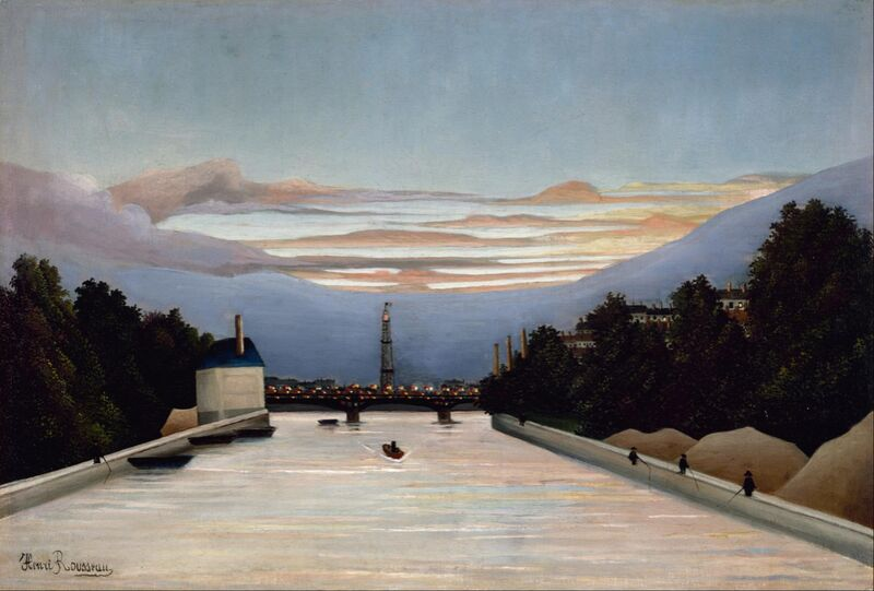 The Eiffel Tower from AUX BEAUX-ARTS Decor Image