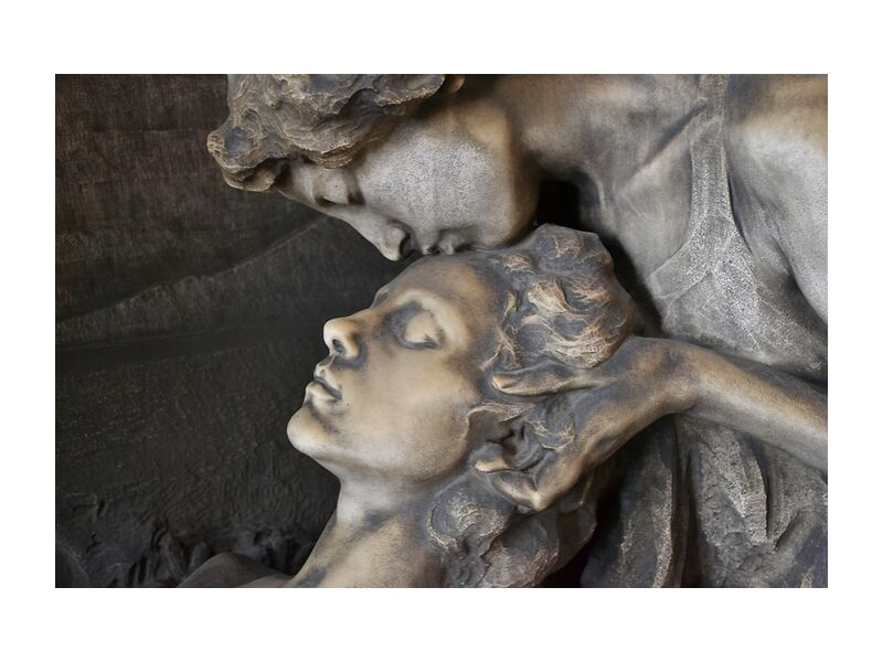 Accompaniment from Pierre Gaultier, Prodi Art, milan, cemetery, sculpture, monumentale