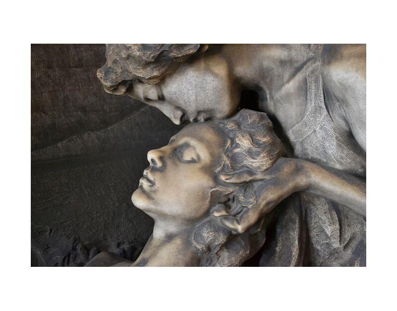 Accompagnement de Pierre Gaultier, Prodi Art, milan, cimetière, sculpture, monumentale