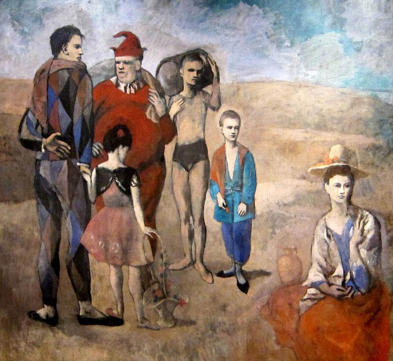 Family of Saltimbanques from AUX BEAUX-ARTS Decor Image