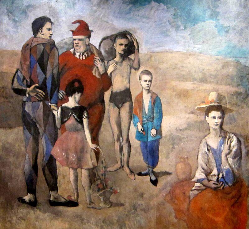 Family of Saltimbanques desde AUX BEAUX-ARTS Decor Image