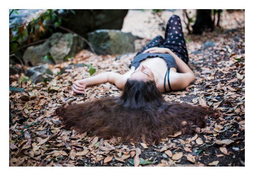 Mélissa de Marie Guibouin, Prodi Art, repos, nature, femme, Sérénité, nouvelle vie, apaisement, femme sauvage