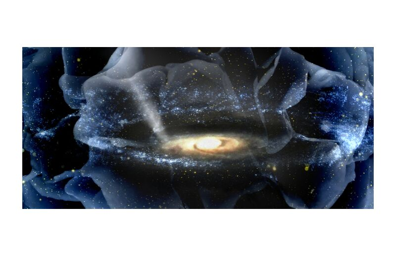 Creative light from Adam da Silva, Prodi Art, universe, God, stars, sky, creation, light, divine
