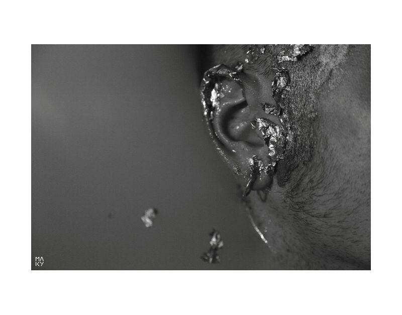 TheManofWater.1 from Maky Art, Prodi Art, man, black and white, water, photography, ear