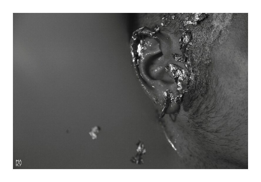 TheManofWater.1 from Maky Art, Prodi Art, man, black and white, water, photography, ear