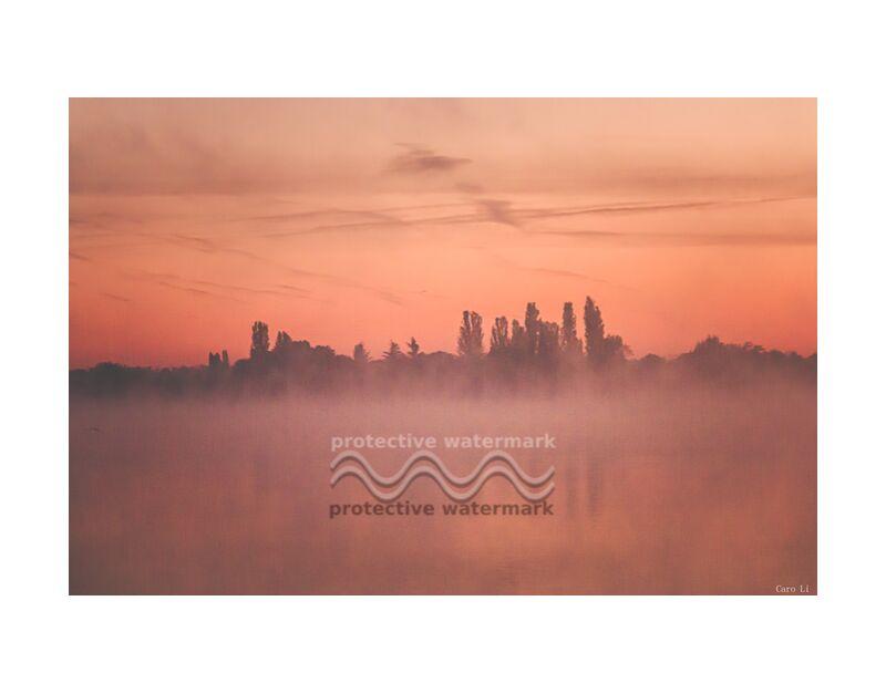 Instant de Caro Li, Prodi Art, eau, réflexion, Landsacpe, lever du soleil, levé de soleil, Lac, Lac, paysage