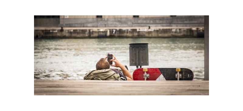 Pause de Caro Li, Prodi Art, rue, rue, Pause, Pause