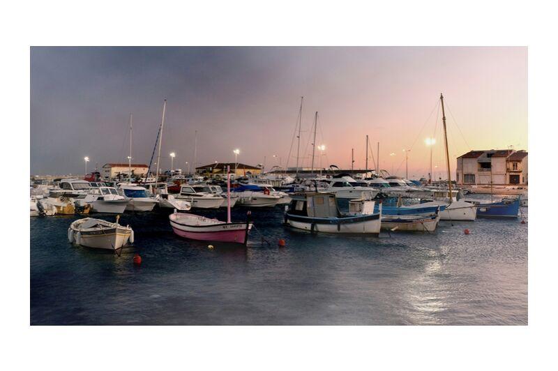 Port de Carro de Frédéric Traversari, Prodi Art, Paysages, provence, Port