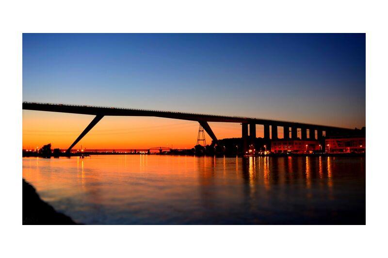 Viaduc de Martigues de Frédéric Traversari, Prodi Art, reflets, soleil, pont, Martigues, Viaduc