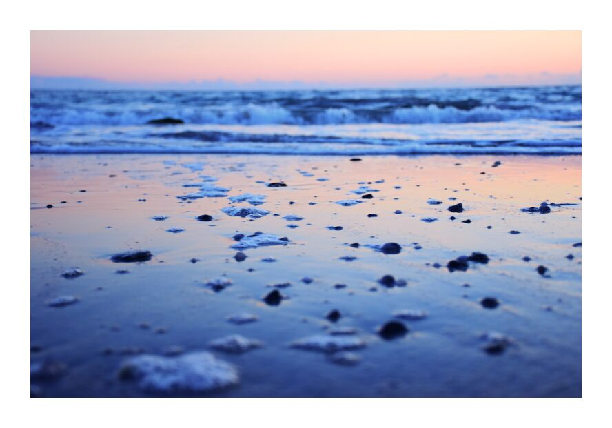 Vagues from Loïse Raoult, Prodi Art, Britain, sand, beach, ocean, sea, waves
