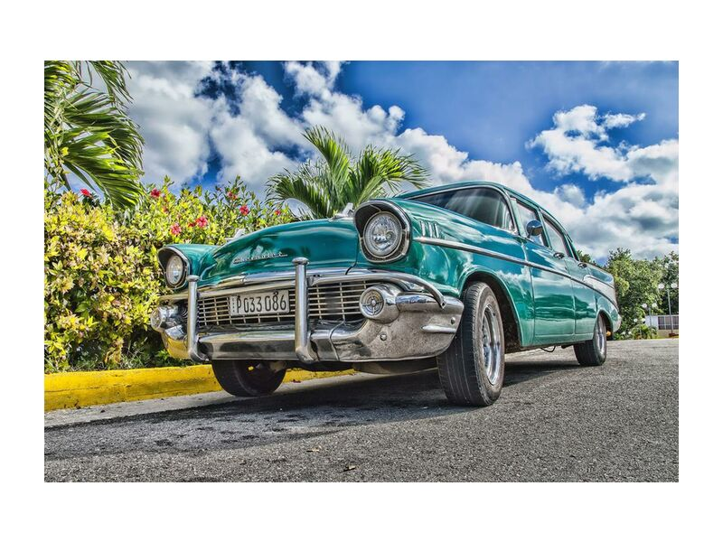 Retro from Aliss ART, Prodi Art, vehicle, screw, drive, classic car, automobile, asphalt, wheel, raw, trees, travel, transportation system, transport, summer, style, street, sky, road, reflection, breed, pavement, outdoors, luxury, low angle shot, car, chrome, classic, clouds