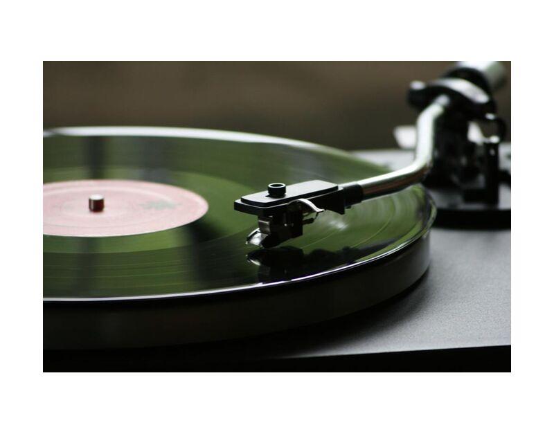 الفينيل from Aliss ART, Prodi Art, bright, mono, vinyl, turntable, sound, round, record, play, data