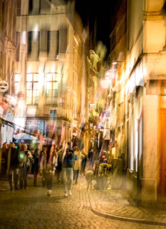 Vie nocturne de Pierre Rousseau Decor Image