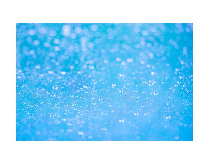 Douceur hypnotique de Marie Guibouin, Prodi Art, bleu, marie guibouin, eau, gouttes d'eau