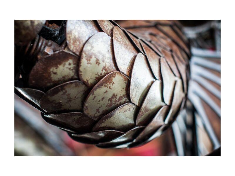 Ecailles de dragon - carrousel des mondes marins from Marie Guibouin, Prodi Art, fish, nantes, marie guibouin, carousel, marine, carousel, island machines, dragon, scales