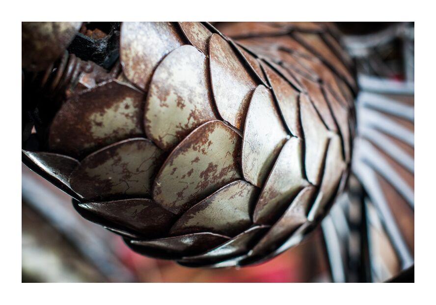 Ecailles de dragon - carrousel des mondes marins de Marie Guibouin, Prodi Art, poisson, nantes, marie guibouin, carrousel, Marin, manège, machines de l'ile, dragon, écailles