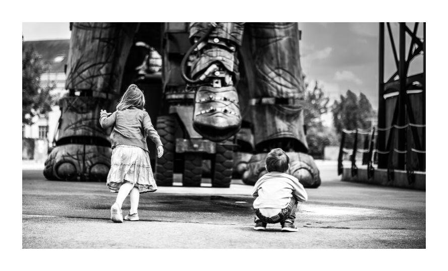Grandiose innocence - Grand éléphant de Marie Guibouin, Prodi Art, innocence, contemplation, marie guibouin, nantes, machines de l'ile, éléphant, Découverte, enfant, enfants