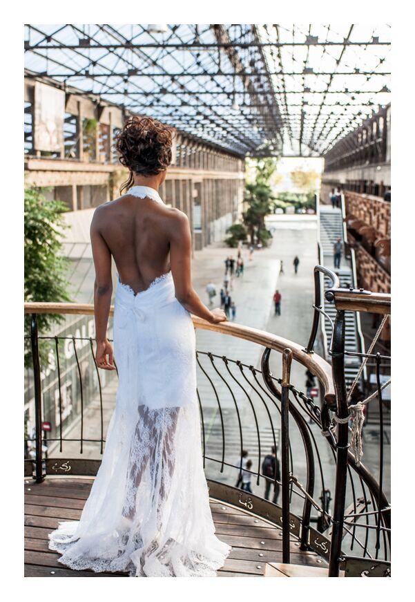 Kamélion Couture de Marie Guibouin, Prodi Art, hangar, , mariée, kamelion couture, couture, industriel, marie guibouin, nantes, éléphant, machines de l'ile, mariage