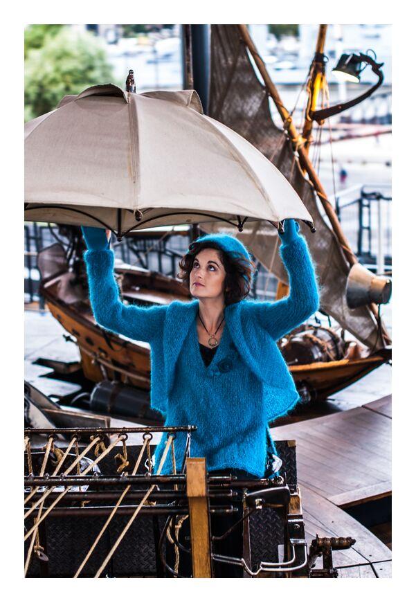 Chez Pascale de Marie Guibouin, Prodi Art, pascale chevrot, marie guibouin, nantes, machines de l'ile, bateau, femme, Marin, carrousel