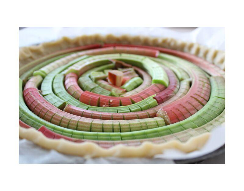 Tarte en folie de jenny buniet, Prodi Art, Couleur, cuisine, dessert