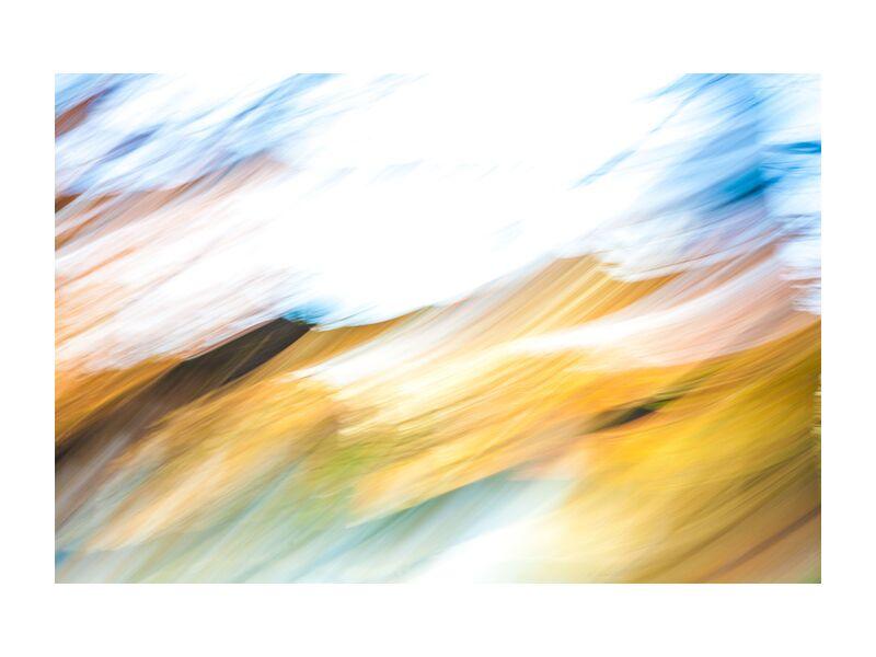 En Vague D'Automne from Julien Replat, Prodi Art, nature, design, blurry, abstract