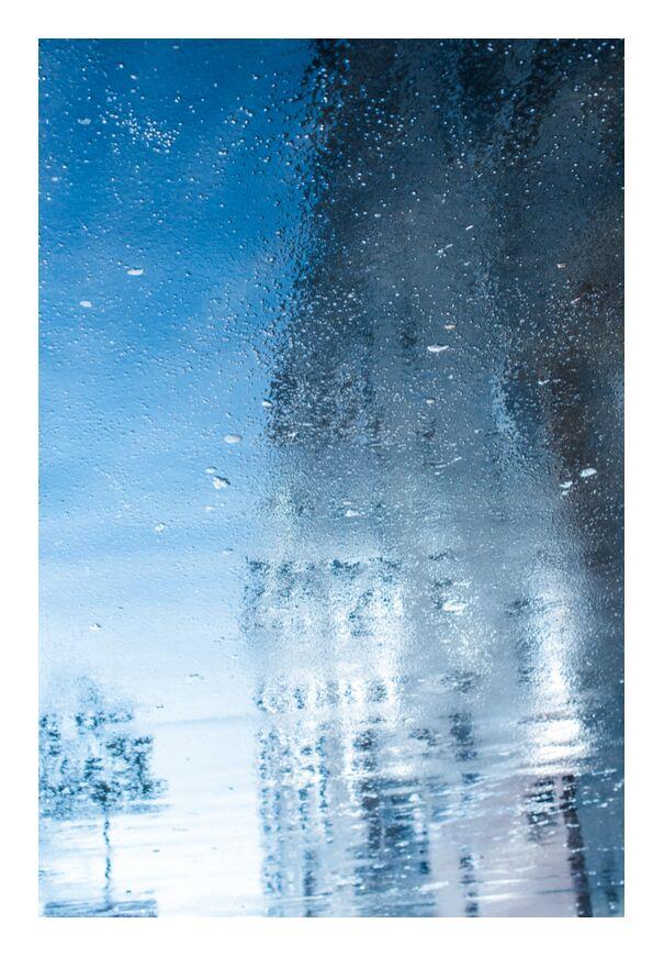 Réflexion reflection de Marie Guibouin, Prodi Art, réflexion, reflet, ville, Urbain, abstrait, peinture, eau, arbre, photo urbaine