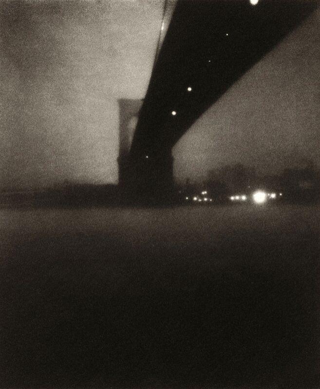 Le pont de Brooklyn - Edward Steichen 1903 de Aux Beaux-Arts Decor Image